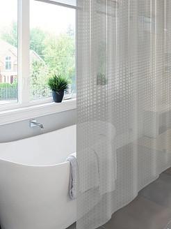 Шторы для ванной из полиэстера и пвх