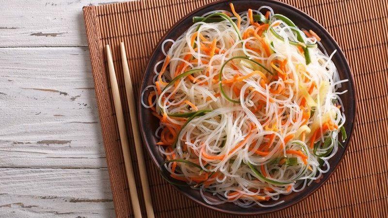 Вред и польза фунчозы, как приготовить рисовую лапшу дома