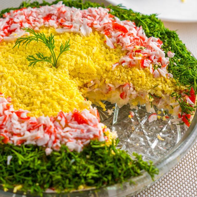 Рецепты салатов с крабовыми палочками, прочими ингредиентами